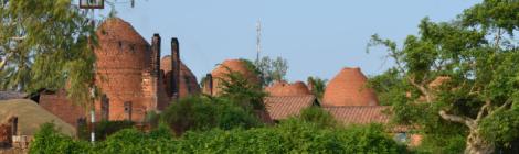 barick kilns in mekong delta