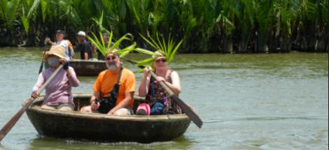 Hoian basket boat