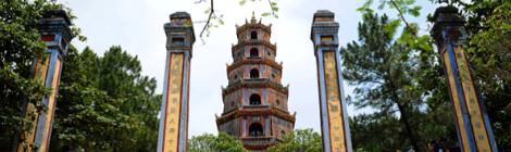Thien Mu pagoda-Hue city