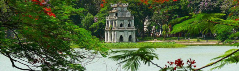 Hoan Kiem lake-Hanoi city