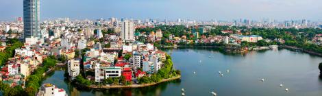 Hanoi capital, Vietnam