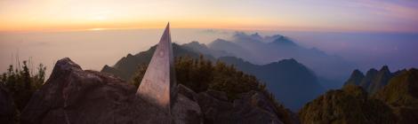 Fansipan summit at dawn