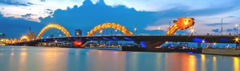 Dragon Bridge in Danang