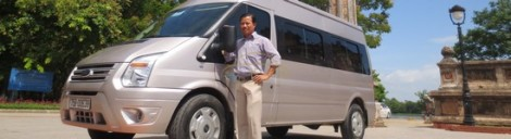 Hoi An Private Car Driver Mr Cuong