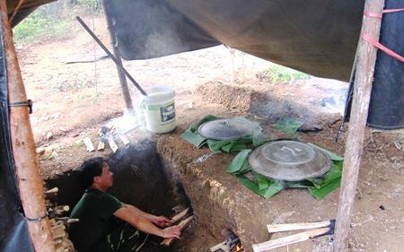 Hoang Cam smoke-less stove