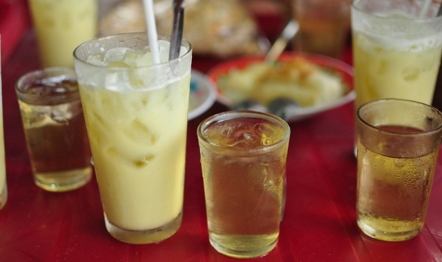 Durian sugarcane juice