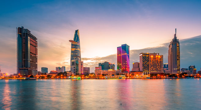Ho Chi Minh - Saigon city