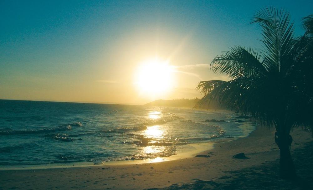 Sunrise on Phan Rang Bay