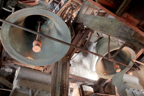 Giant Bell in The Notre Dame Cathedral