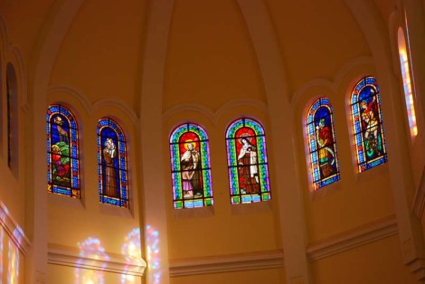 Pictures by Sun light in the Cathedral