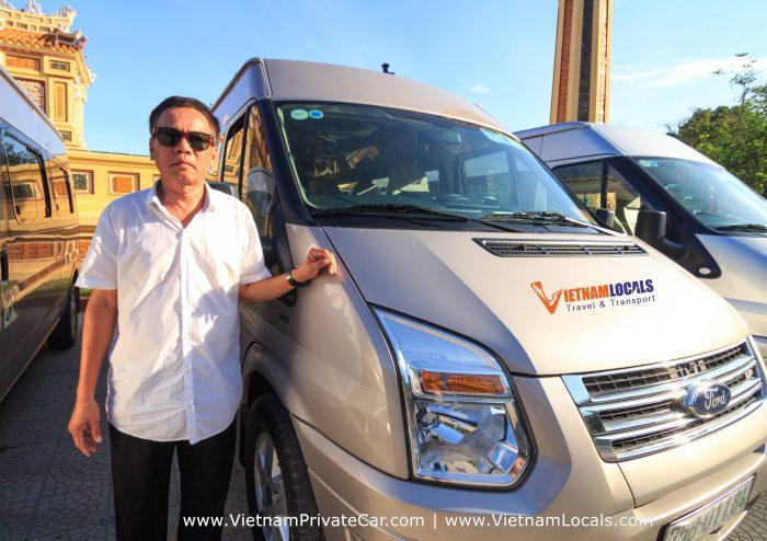 VAN-FORD TRANSIT-Vietnam Locals Travel
